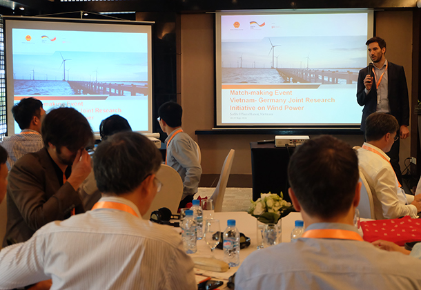 Germany will support Vietnam in studying wind power development