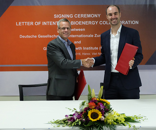GIZ and GGGI cooperate for bio-energy development in Vietnam