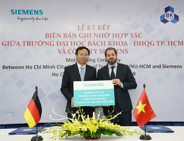 Siemens to support Ho Chi Minh University of Technology in the development of Industrie 4.0 Lab