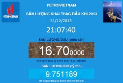 pvn exceeds oil and gas production target in 2013