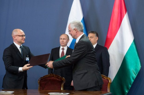 Russia, Hungary to cooperate in nuclear staff training