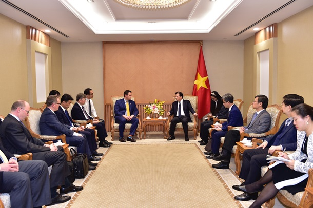 The US, South Korea partners proposed the investment in LNG power projects in Vietnam