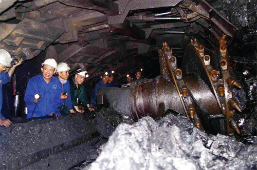 Many solutions to solve problems for the coal industry