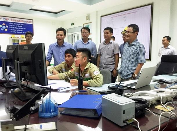 Powering the shunt reactor at Vung Ang 500 kV transformer substation