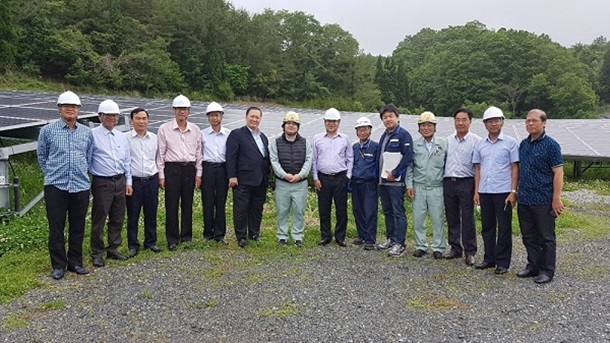 Binh Thuan province Delegation visited and worked with Pacifico Energy Corporation in Japan