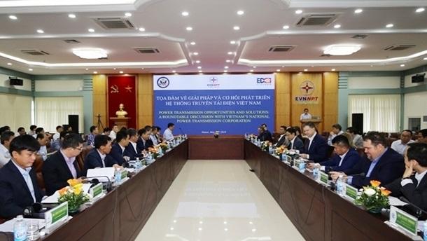 Vietnam, US talk power transmission opportunities