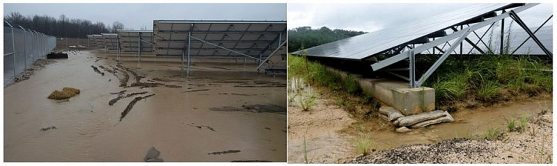 Management and operation of PV plants in extreme weather conditions