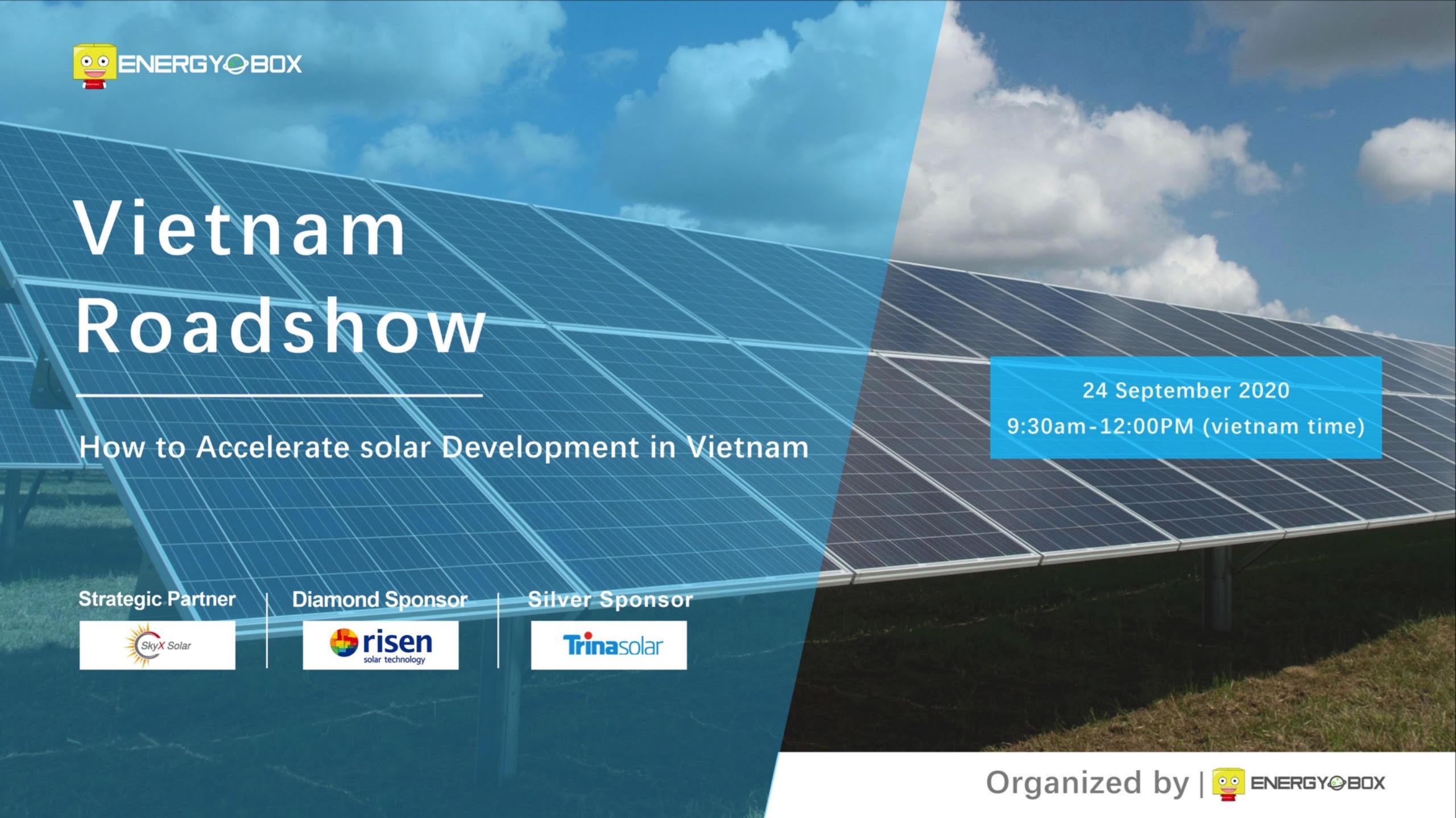 Webinar - How to Accelerate 12GW of Solar Development in Vietnam
