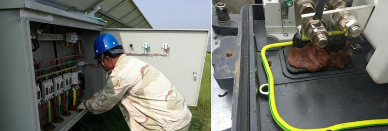The influence of salt spray and high humidity environments on solar PV systems
