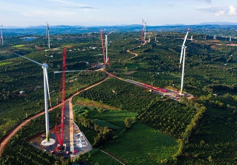 Updating wind power projects in Vietnam  recognized to be in COD