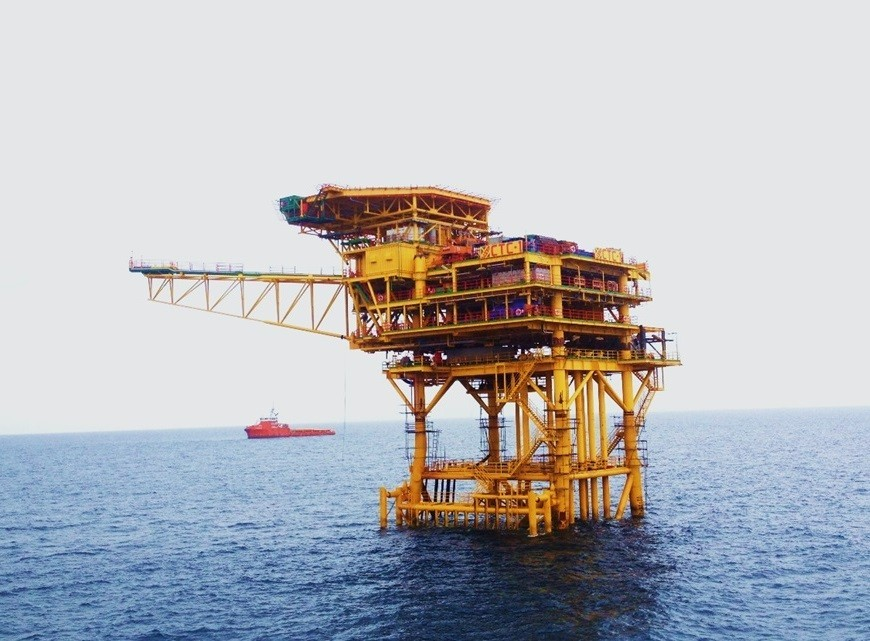 Ca Tam field exploited oil production of 01 million tons