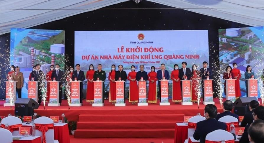 Starting Quang Ninh LNG power project