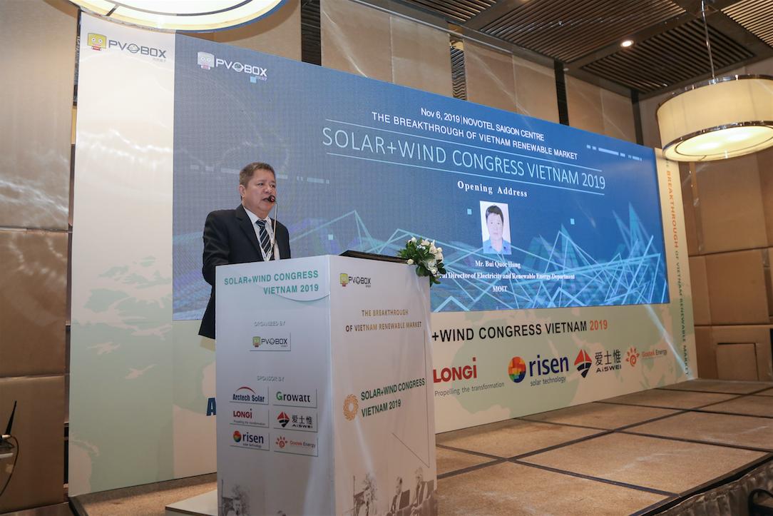 Summit Conference on Solar + Wind Congress 2019 in Vietnam