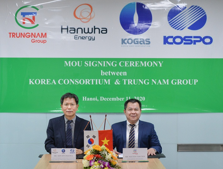 MOU Signing Ceremony between Korea Consortium and Trung Nam Group