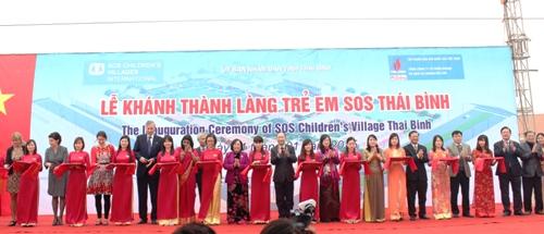 Thai Binh SOS Children's Village has been inaugurated