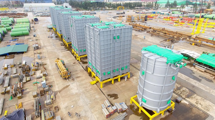Doosan Vina kicks off the new year 2021 by exporting petrochemical equipment to Thailand