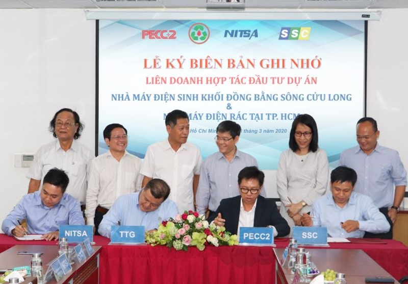 PECC2 signed a MOU on cooperation to invest in biomass and waste – to - energy projects
