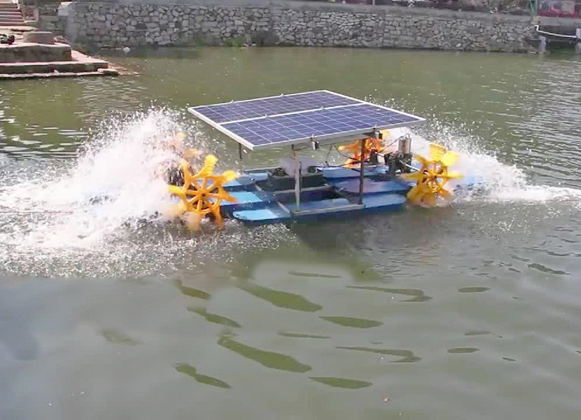 GIZ has started the project of integrating aquaculture and solar power