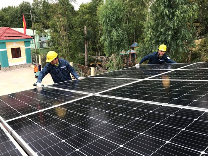The rooftop solar power projects expect to be strongly developed