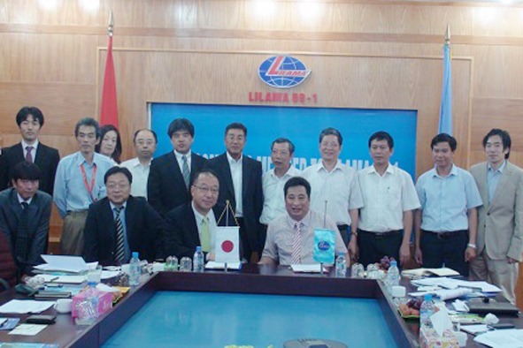 Lilama and Hitachi sign an Agreement of  Cooperation on Nuclear Power Plant Construction
