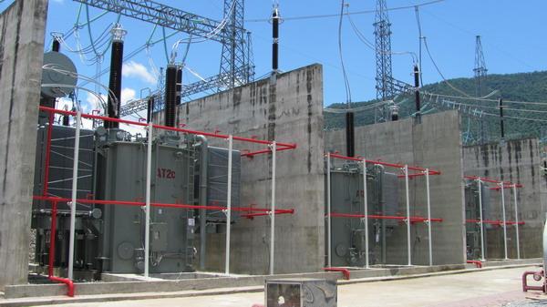 Powering the transformer AT2 in Son La 500 kV Transformer Substation