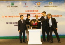 Starting an US$ 170 million loan for power transmission grid investment
