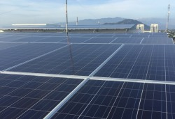 efficiency of rooftop solar system in ninh thuan power company