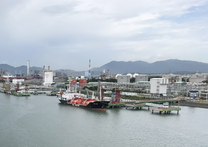 Vietnam has received the first refrigerant Liquefied Petroleum Gas shipment from Saudi Arabia