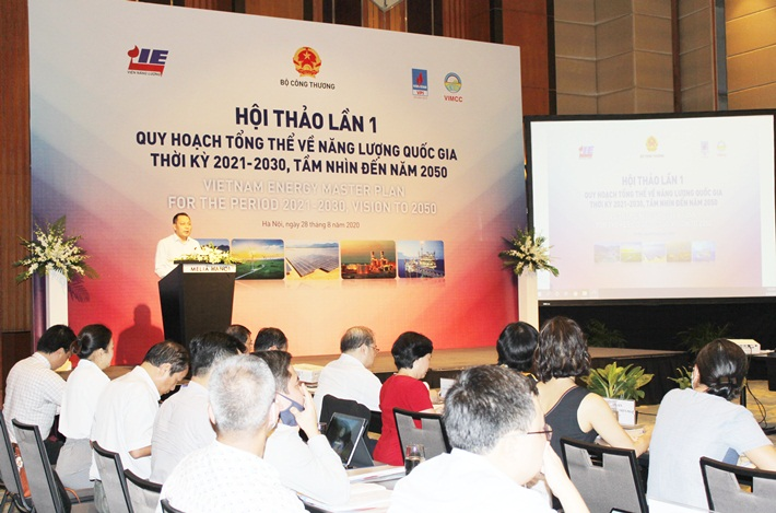 The First Workshop on National Energy Master Plan