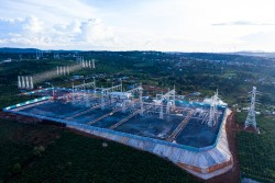 powering 500kv transformer substation for the largest wind power project in vietnam