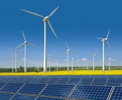 binh thuan will become the large center of wind and solar power of the whole country