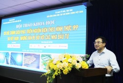 """The workshop on """"Mechanisms and policies for IPP investors to develop power sources  in Vietnam - Issues for investors"""""""