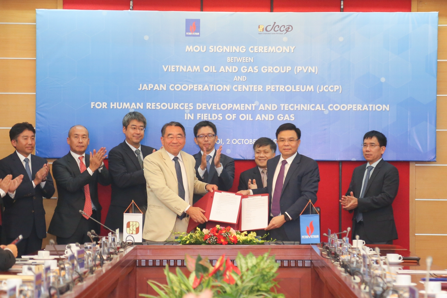PVN and JCCP strengthen cooperation in oil and gas processing and new energy development