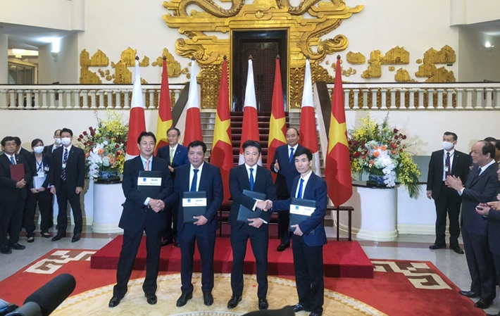 Signing a MOU for Quang Ninh LNG Power Project