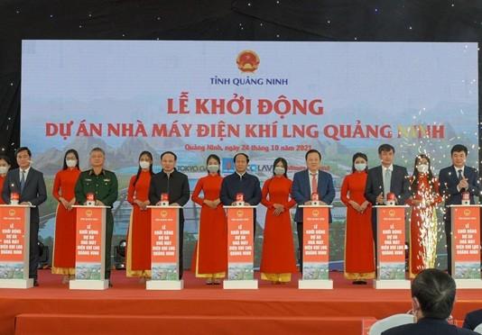 Khởi động dự án Nhà máy điện khí LNG Quảng Ninh