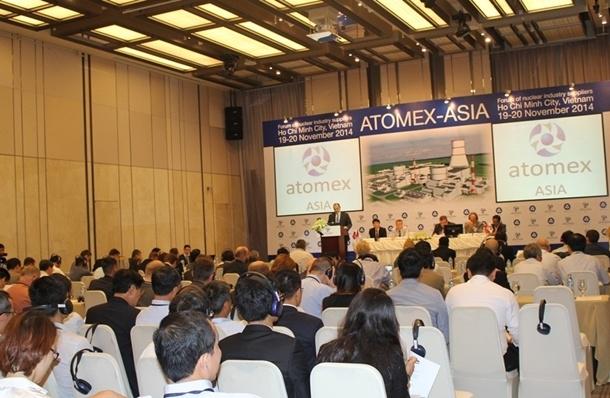 Khai mạc Atomex Asia 2014