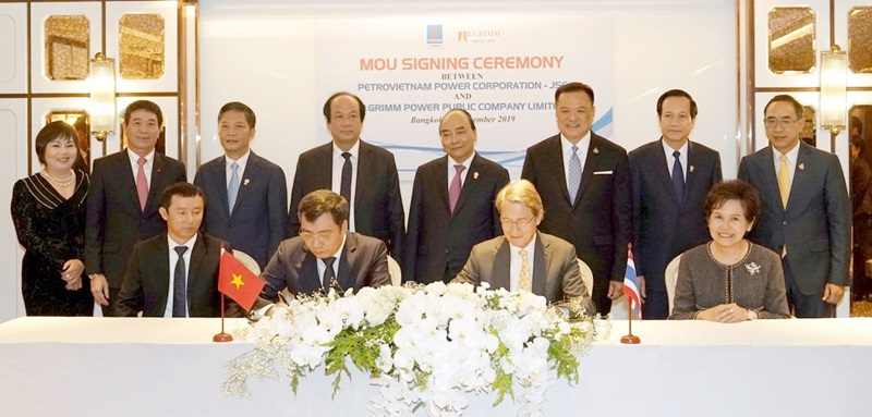 PV Power signed a MOU on cooperation with a Thailand Group