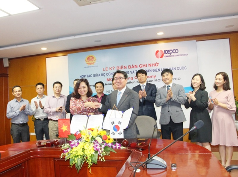 KEPCO will help Vietnam to construct an model of energy efficient building
