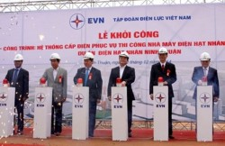 starting out the power supply system project for constructing ninh thuan nuclear power plants