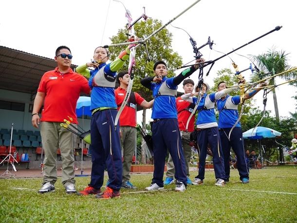 Third Training Camp for Vietnamese National Archery Team