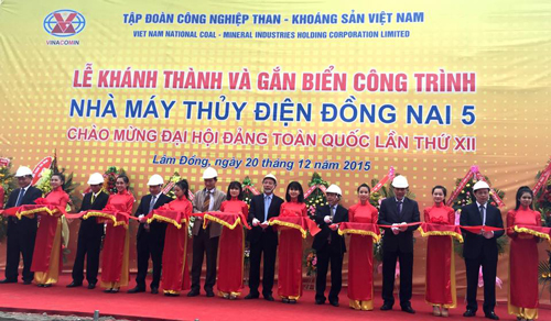 Vinacomin launches Dong Nai 5 hydropower plant