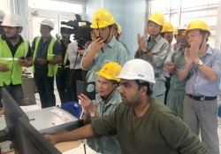 h5 unit of da nhim hpp has been successfully synchronized with the power system