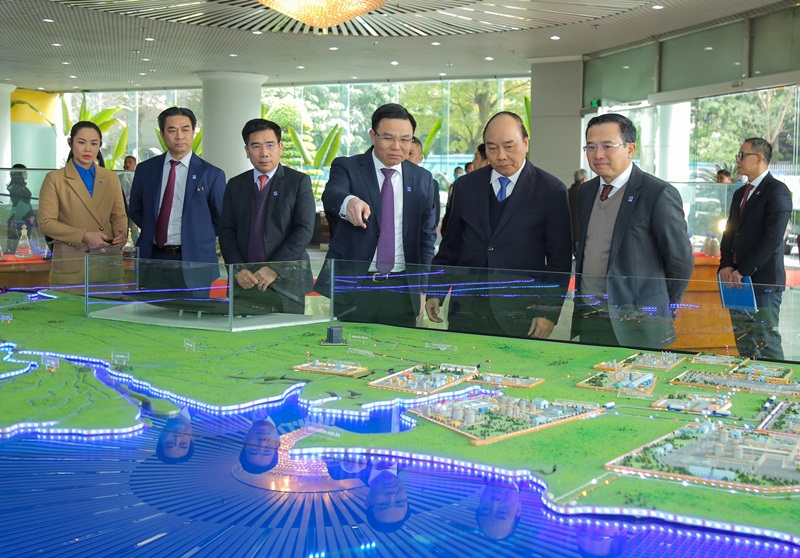 The Prime Minister Nguyen Xuan Phuc attended PVN Conference for deploying 2021 tasks