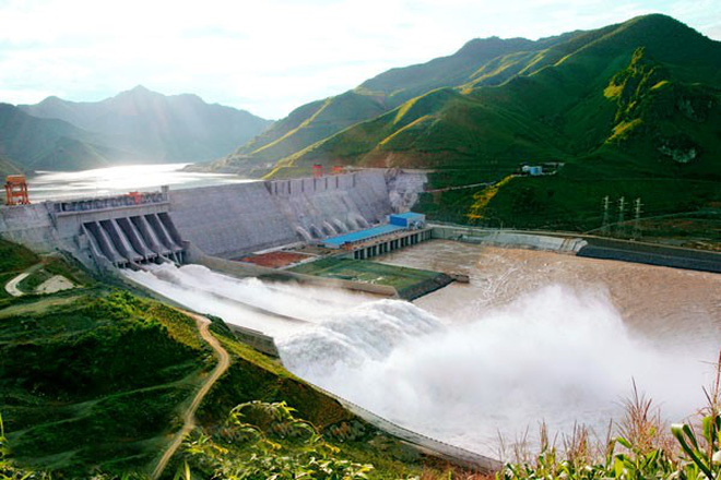 The first Hydropower Project funded by World Bank has started power generation