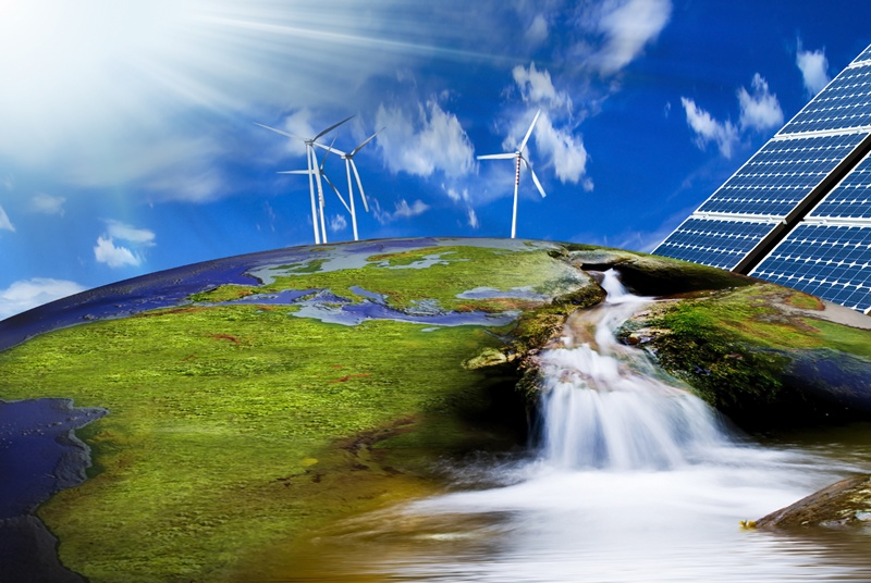 Credit priority for green energy projects
