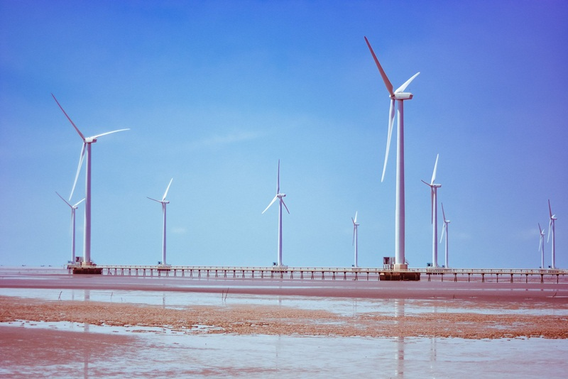 What situation of the wind power projects in 2021?