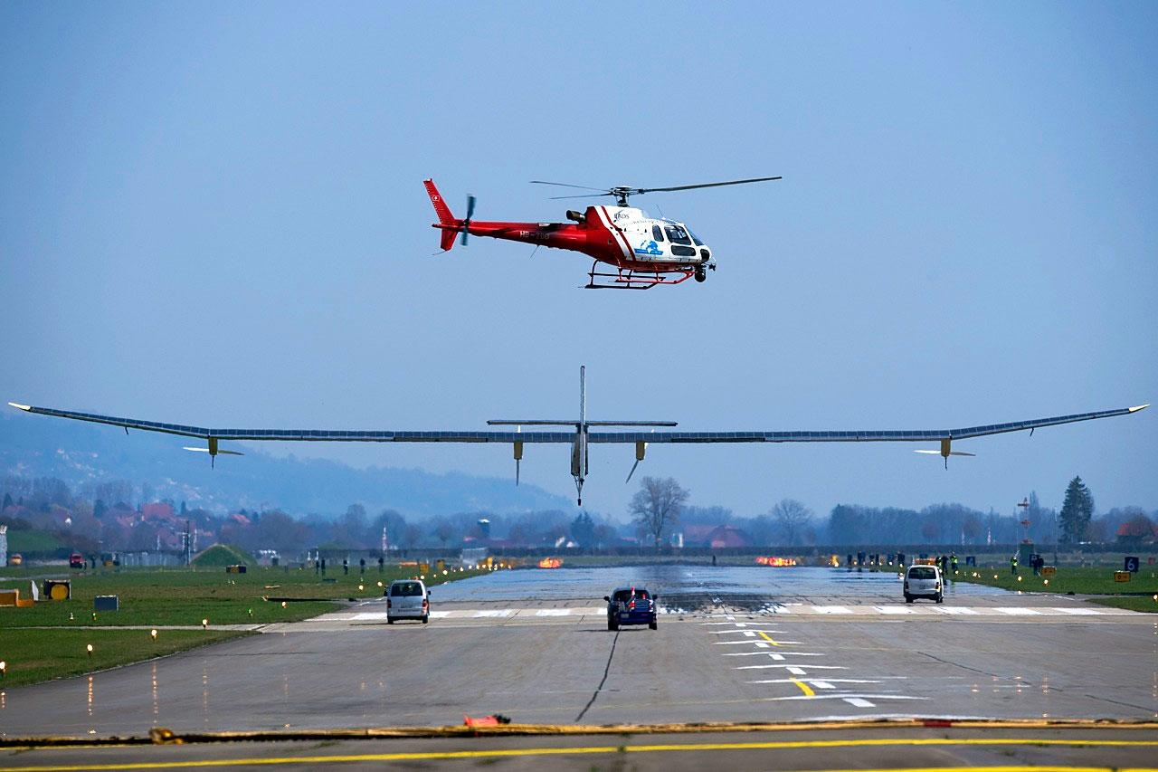 Solar Impulse kết thúc hành trình xuyên nước Mỹ