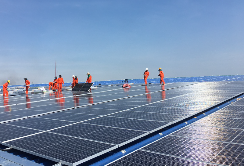 In the first six months of 2021, Vietnam NPS received 14.69 billion kWh from the renewable energy projects