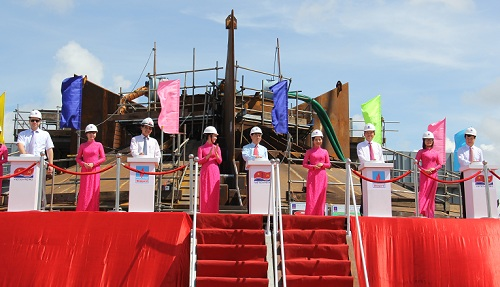 Keel laying for biggest  made in Vietnam jack-up drilling rig