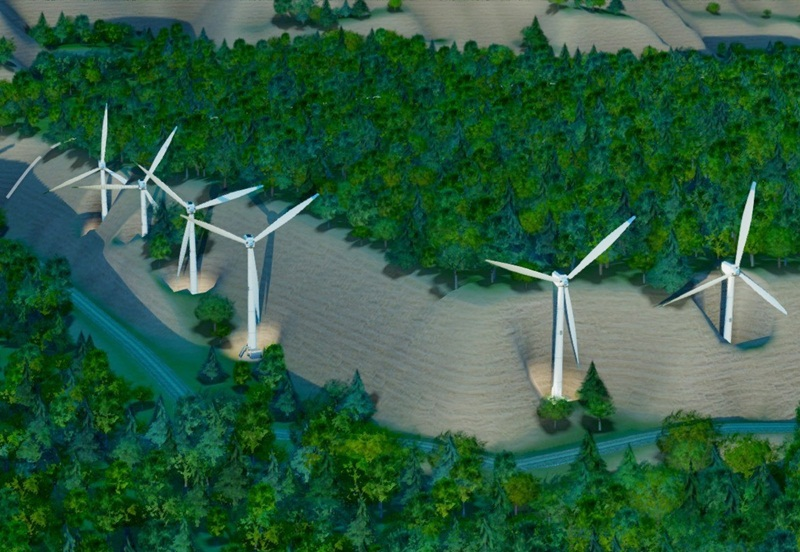 Approving the policy of investment in Nam Binh 1 wind power project (Dak Nong)